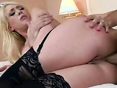 Hotelmaid Kagney anal reamed by customer