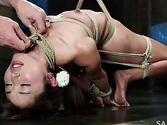 punishing a little asian slut