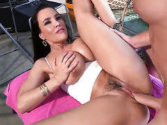 Lisa Ann with phat bottom does lewd things