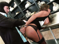Madison Ivy with giant tits gets turned