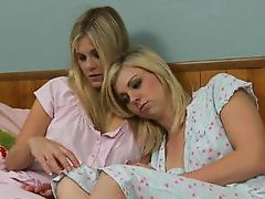lesbians in a room @ wet for women #01