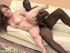 Midget Kaylee Has Her First Black Cock