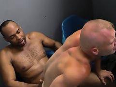 Amateur rides black cock