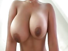 Sexy ebony babe goes crazy sucking
