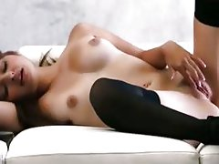 Luscious chick Natasha Malkova solo scene
