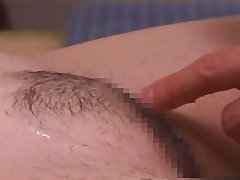 asian cunt getting shaved