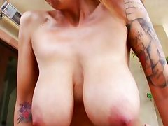 courtesan with gigantic breasts owned profound by a yearn weenie