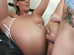 He yearns to fuck her ass