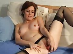 France Girl strip and masturbate